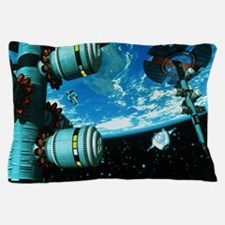 Space stations Pillow Case