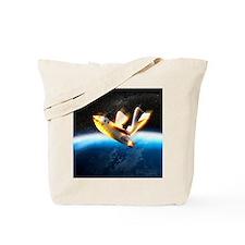 SpaceShipOne re-entry Tote Bag