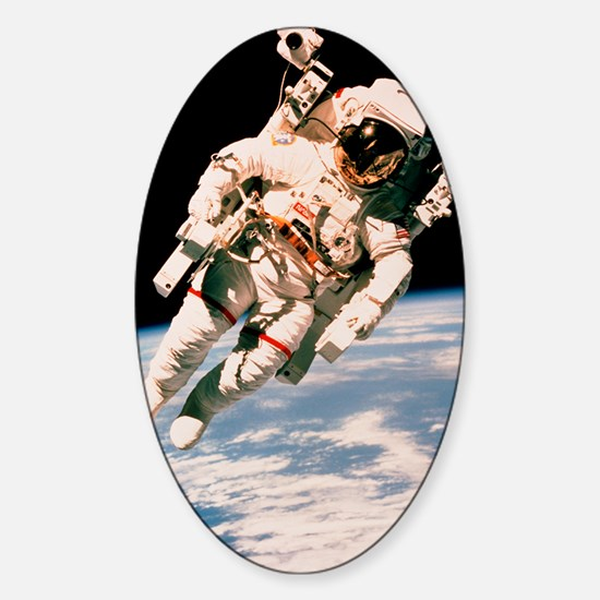 Spacewalk Sticker (Oval)