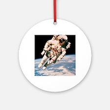 Spacewalk Round Ornament
