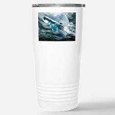 Spaceship Stainless Steel Travel Mug