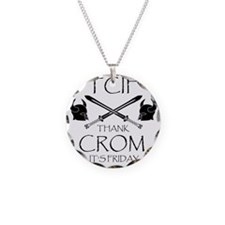 Thank Crom Its Friday Necklace