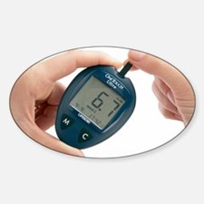 Blood glucose meter Decal