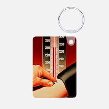 Blood pressure test Keychains