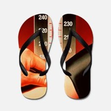 Blood pressure test Flip Flops