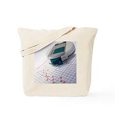 Blood glucose tester Tote Bag