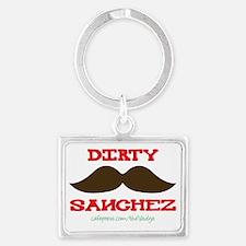 Dirty Sanchez - The Vadge Landscape Keychain