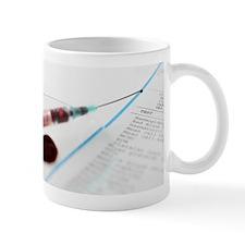Blood sample Mug