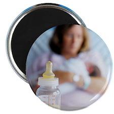 Bottle of breast milk Magnet