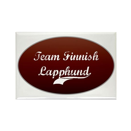 Team Lapphund Rectangle Magnet (10 pack)