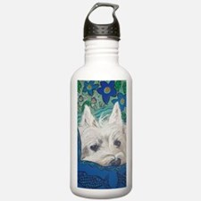 Journal Westie Water Bottle