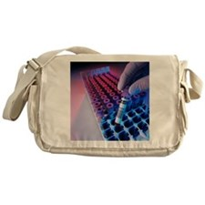 Blood sampling tubes Messenger Bag