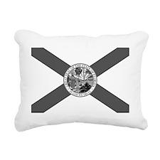Flag of Florida Rectangular Canvas Pillow