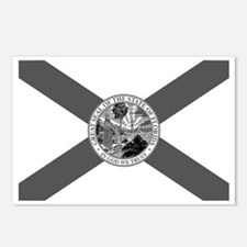 Flag of Florida Postcards (Package of 8)