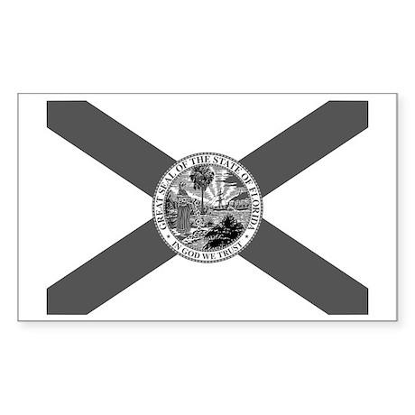 Flag of Florida Sticker (Rectangle)