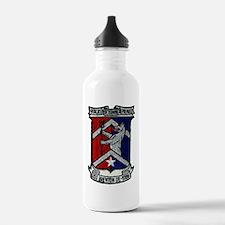 uss brewton de patch t Water Bottle
