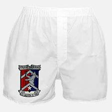 uss brewton de patch transparent Boxer Shorts