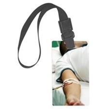 Blood transfusion Luggage Tag