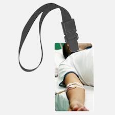 Blood transfusion Luggage Tag