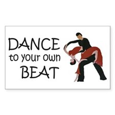 Dance to your own Beat Decal