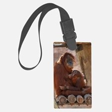 (10) Orang Mother  Child 7372 Luggage Tag