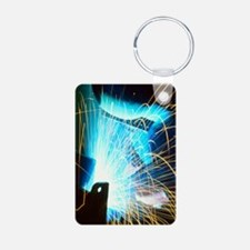 Sparks flying from an argo Keychains