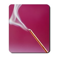 Burning incense Mousepad