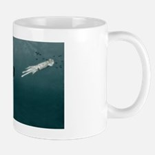 Sperm whale and giant squid Mug