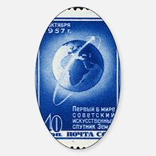 Sputnik 1 stamp Decal