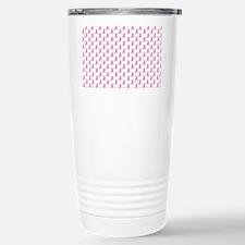 Breast Cancer Awareness Pink Ri Travel Mug
