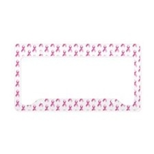 Breast Cancer Awareness Pink  License Plate Holder