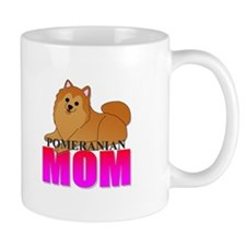 Orange Pomeranian Mom Mug