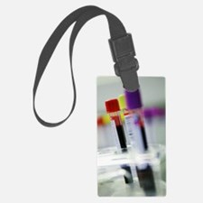 Blood samples Luggage Tag