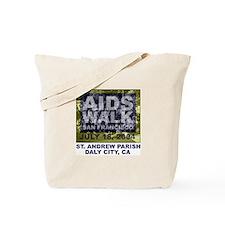 Unique Andrew white Tote Bag