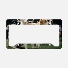 Stag hounds License Plate Holder