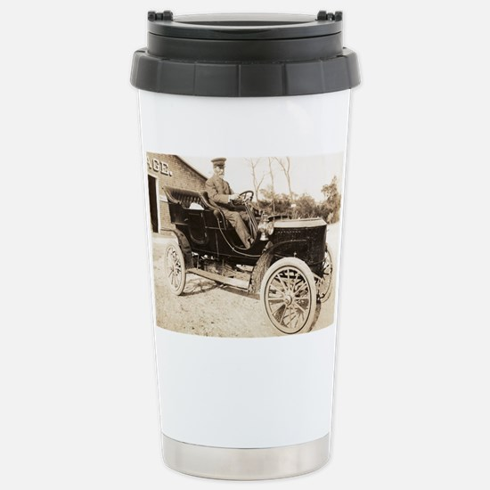 Stanley Steamer car, 1906 Stainless Steel Travel M