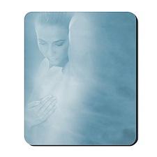 Breast self- examination Mousepad