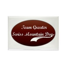 Team Swissie Rectangle Magnet (100 pack)