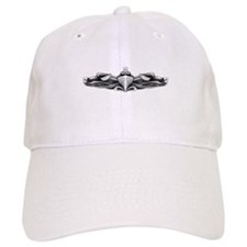 uss brumby ff white letters Baseball Cap