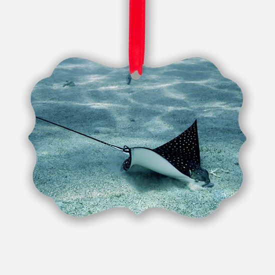 Spotted eagle ray Ornament