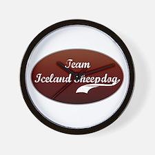 Team Sheepdog Wall Clock
