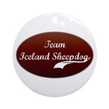 Team Sheepdog Ornament (Round)