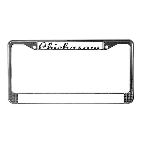 Chickasaw, Vintage License Plate Frame