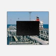 St Petersburg oil terminal, Russia Picture Frame