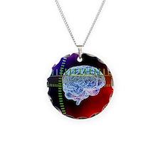 Brain scanning, conceptual a Necklace