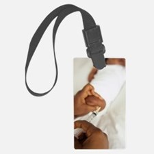 Childhood injection Luggage Tag