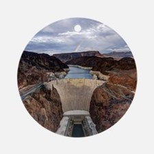 Hoover Dam Round Ornament