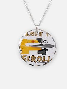 ilovetoscroll Necklace