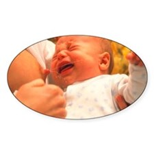 Breast-feeding: baby's crying cause Decal