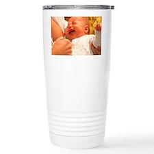 Breast-feeding: baby's crying c Travel Mug